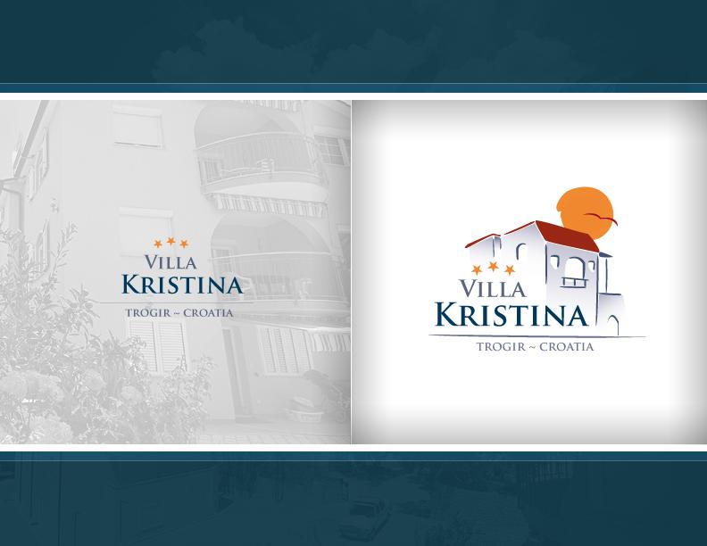 Logo Design Villa Villa Krstina Logo 2007