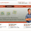TechSupport.ca - Home and inside page (2009)